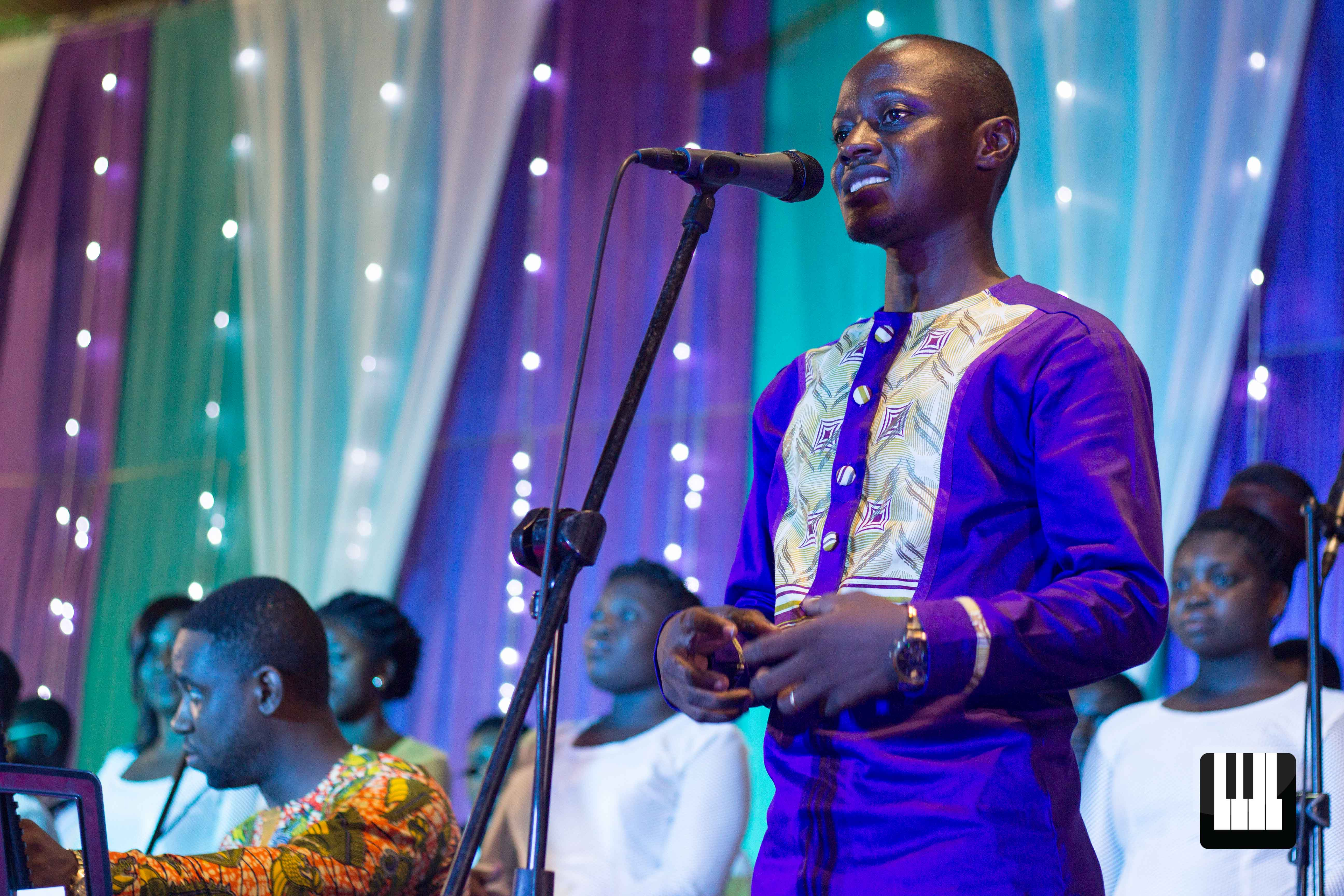 Music as a Therapy Ben Adjei's first musical show, Music as a Therapy, came off on Sunday the 2nd of April, 2017. It was a program full of surprises!