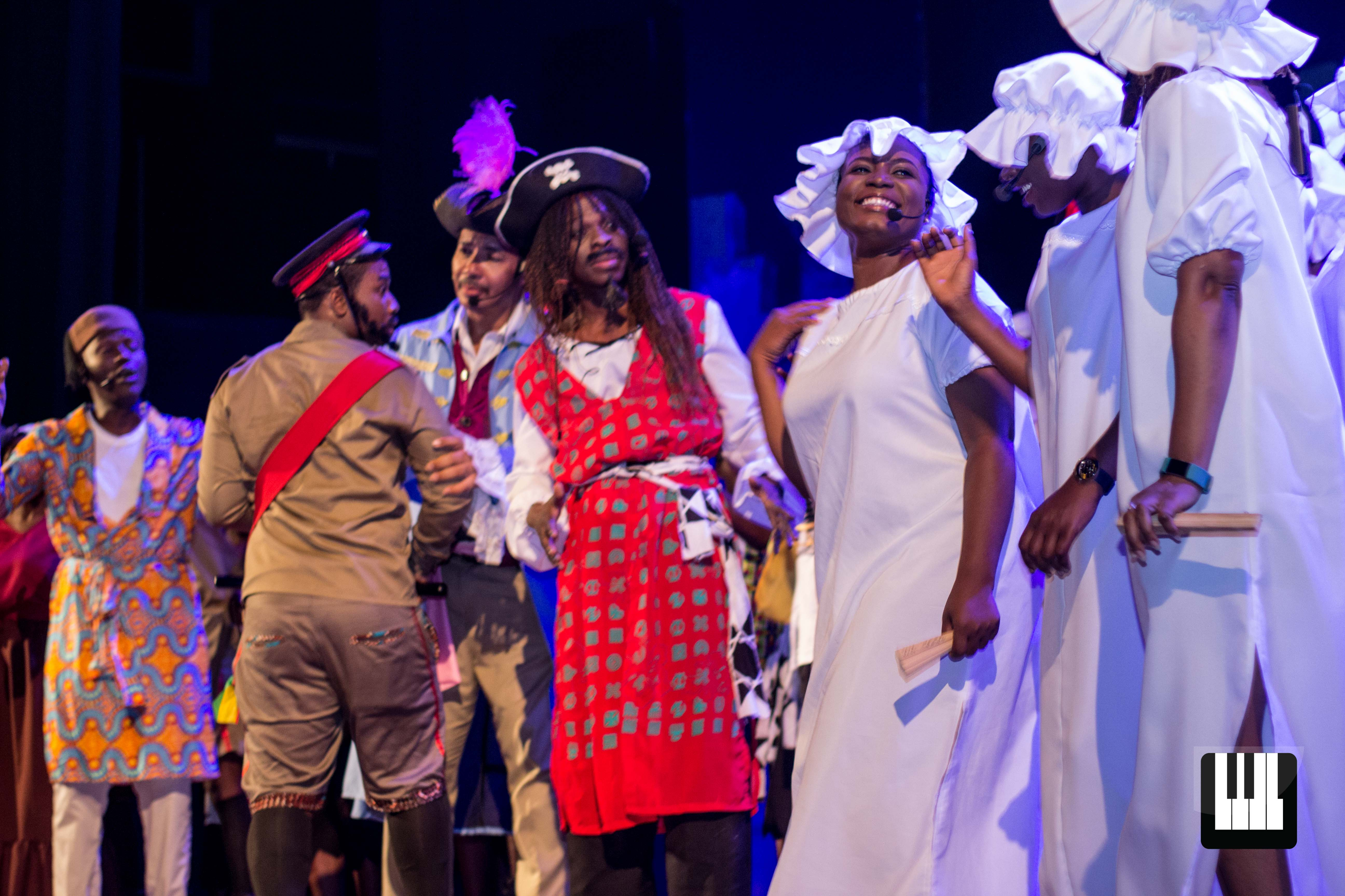 The Pirates of Penzance Achimota School's alumni and current students staged a remarkable revival of Gilbert & Sullivan's The Pirates of Penzance at the National Theatre. Choral Music Ghana witnessed the entertaining production.
