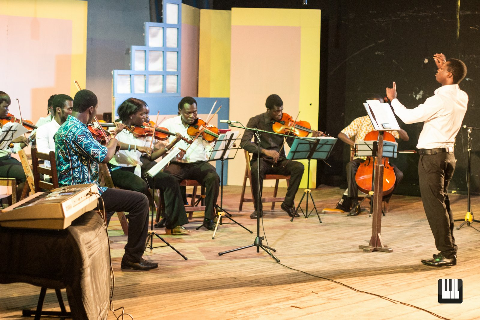 UG Music Dept End of Semester Shows The Music Department at the University of Ghana hold concert as part of their end of semester exams.