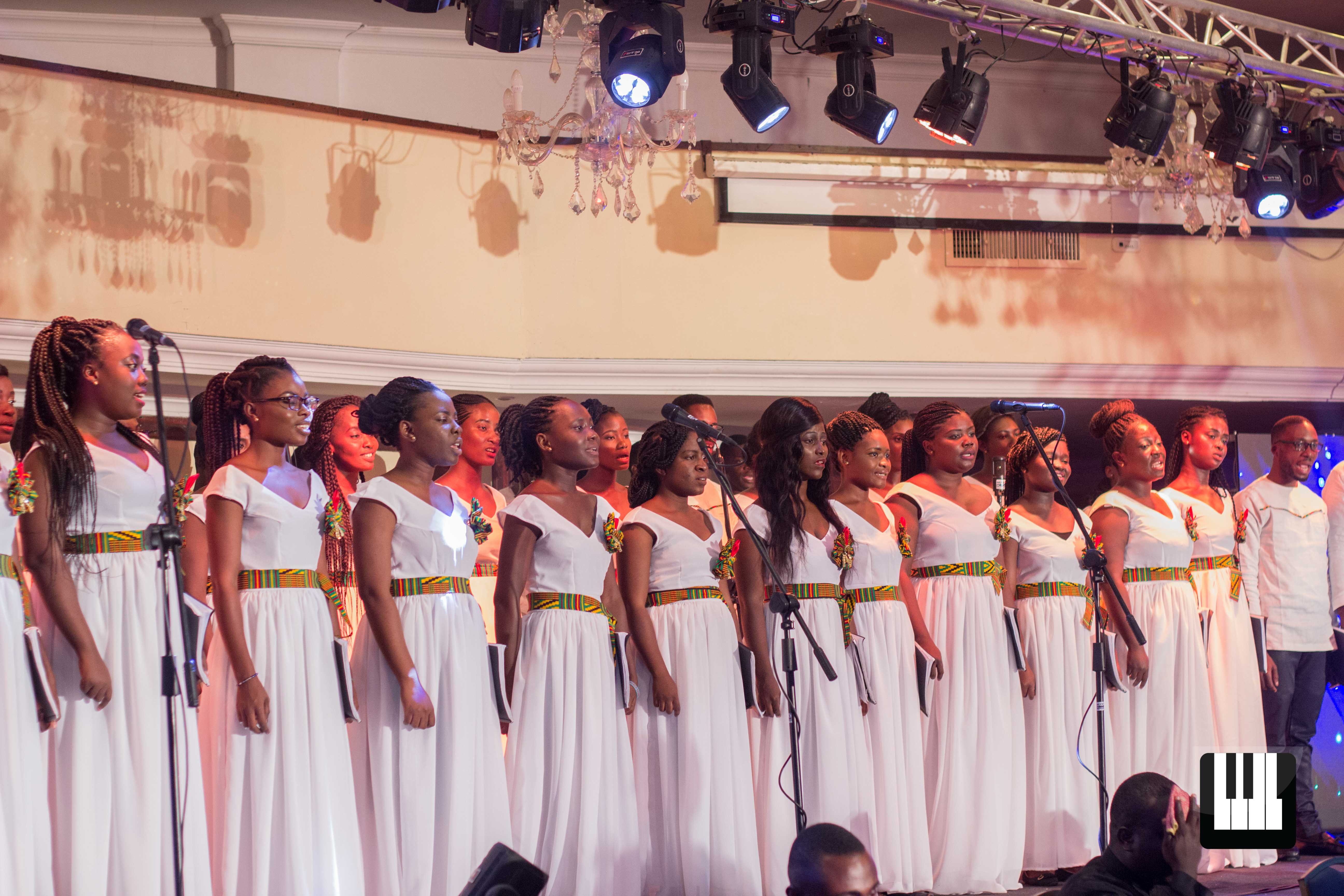 The Creator's Tribute by Chorale Africa Jesse Johnson was present at the first public performance of Chorale Africa, held at the La Palm Royal Beach Hotel.