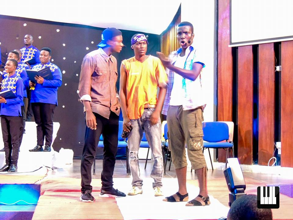Look Back: Laudate Deo Kwaku Boakye-Frempong joined fans of the University Choir, KNUST, for Laudate Deo, a dramatic portrayal of the life of two christians with music from illustrious composers.