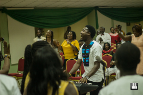 The Living Choir's Maiden Album Launch Jesse Johnson honoured a promise he made months back to be at the Living Choir's annual Christmas concert
