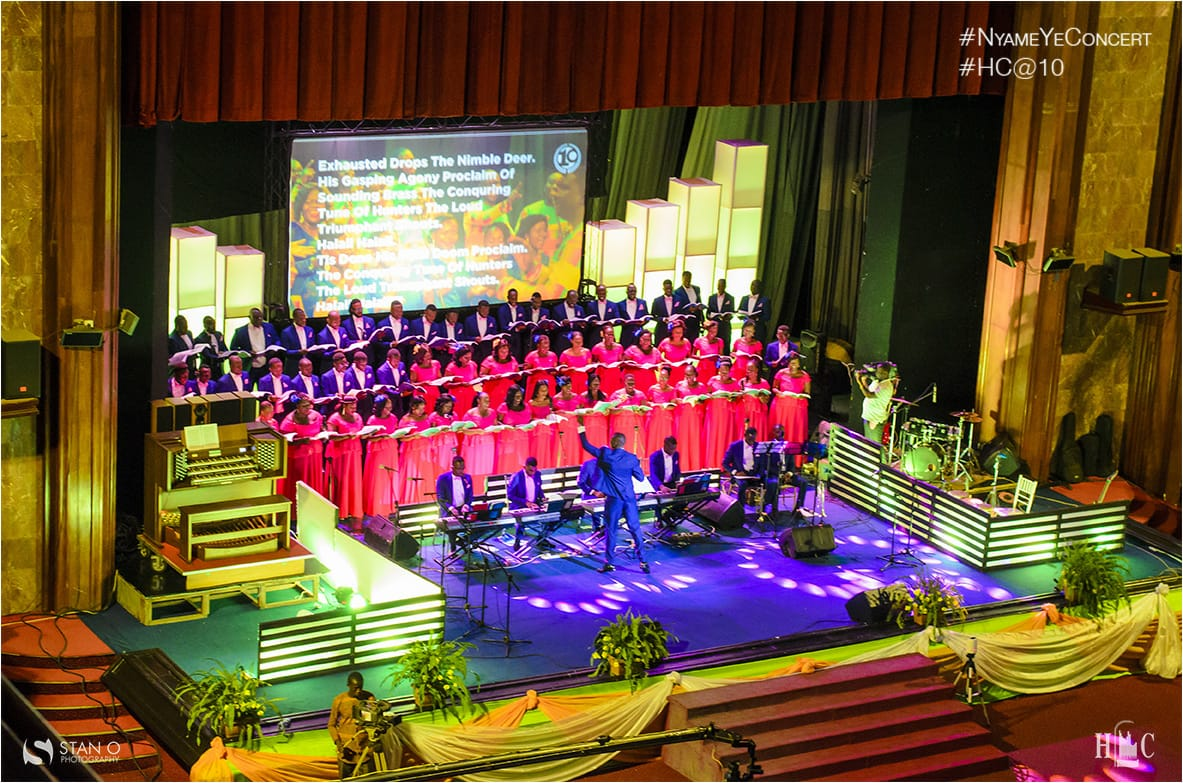 Harmonious Chorale's 10th Anniversary Concert Nii Adjetey joined hundreds of fans of Harmonious Chorale to celebrate their 10th Anniversary. He writes for Choral Music Ghana.