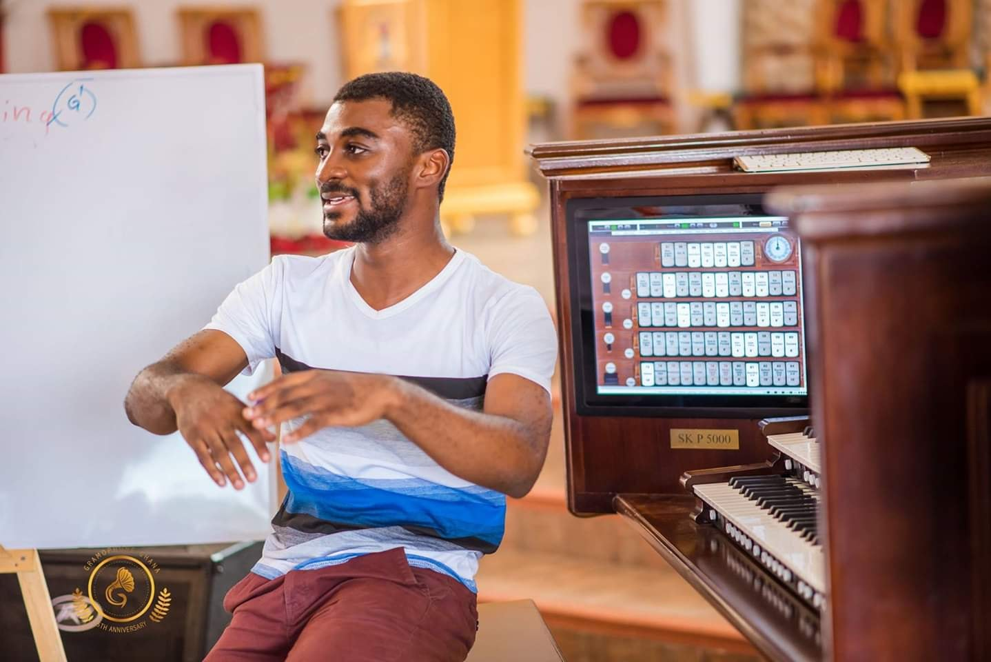 The Ghanaian Organ Maker Kwaku Boakye-Frempong spoke to Samuel Ekow Kwofie, the CEO of Olive Organs, the first Ghanaian organ maker, about the unique business he is exploring in the music space.