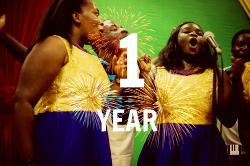 A Year Old This calls for a bit of celebration this month, Choral Music Ghana is a year old! We would like to thank you for being with us on our journey exploring the choral music scene in Ghana.
