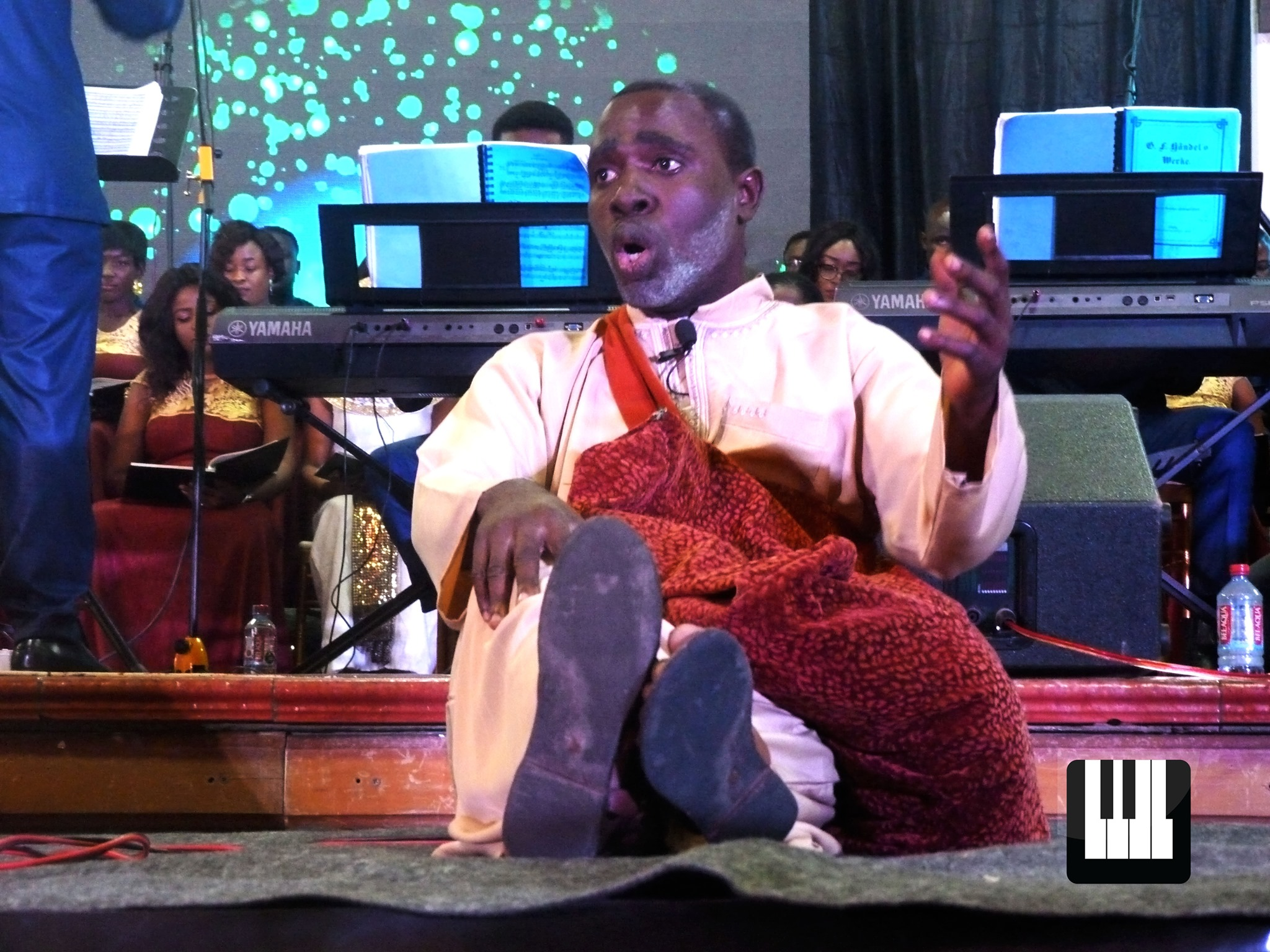 Wesleyan Symphonic Choir performs 'Samson' The Wesleyan Symphonic Choir staged two performances of Handel's 'Samson' in Takoradi and Accra, respectively. Kwaku Boakye-Frempong was present to discuss the relevance of the production.